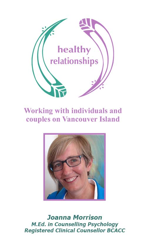 Healthy Relationships BC Rack Card Side One